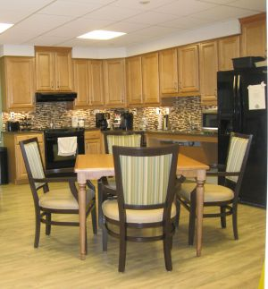 Personal Care Kitchen/Activity Area