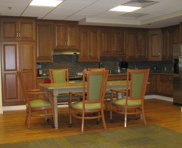 Activity Room Kitchen Area