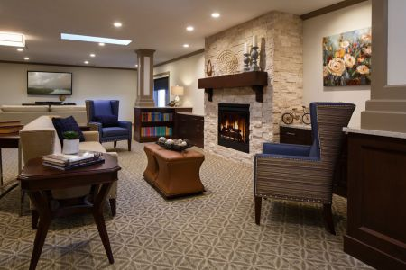 Great Room at Sarah A. Todd Memorial Home