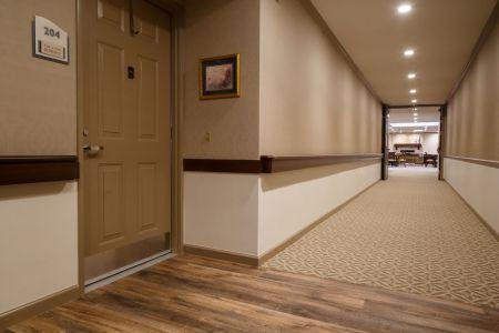 Hallway at Sarah A. Todd Memorial Home