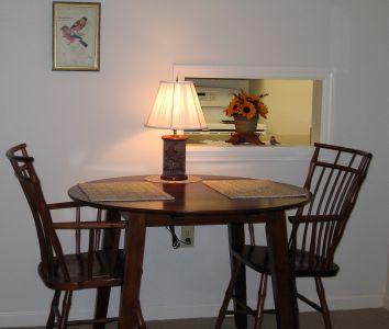 Ephrata Manor Apartment Dining Area