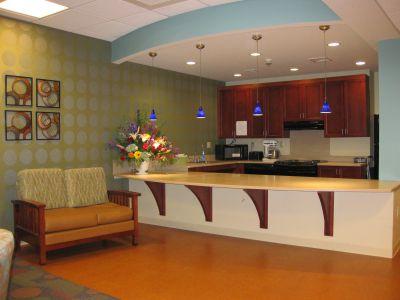 Ephrata Manor Activity Room Kitchen Area