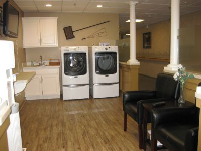 Personal Care Laundry Area