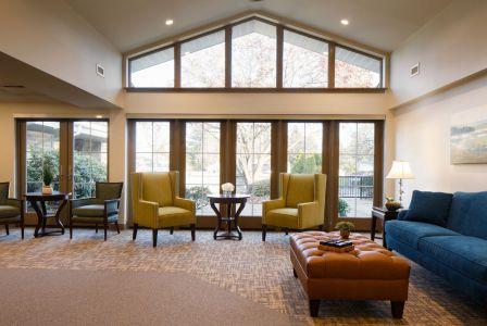 Sitting Area at Sarah A. Todd Memorial Home